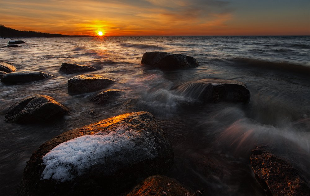 Ключенков, Море, Пейзаж, Эстония, Kljuchenkow Aleksandr