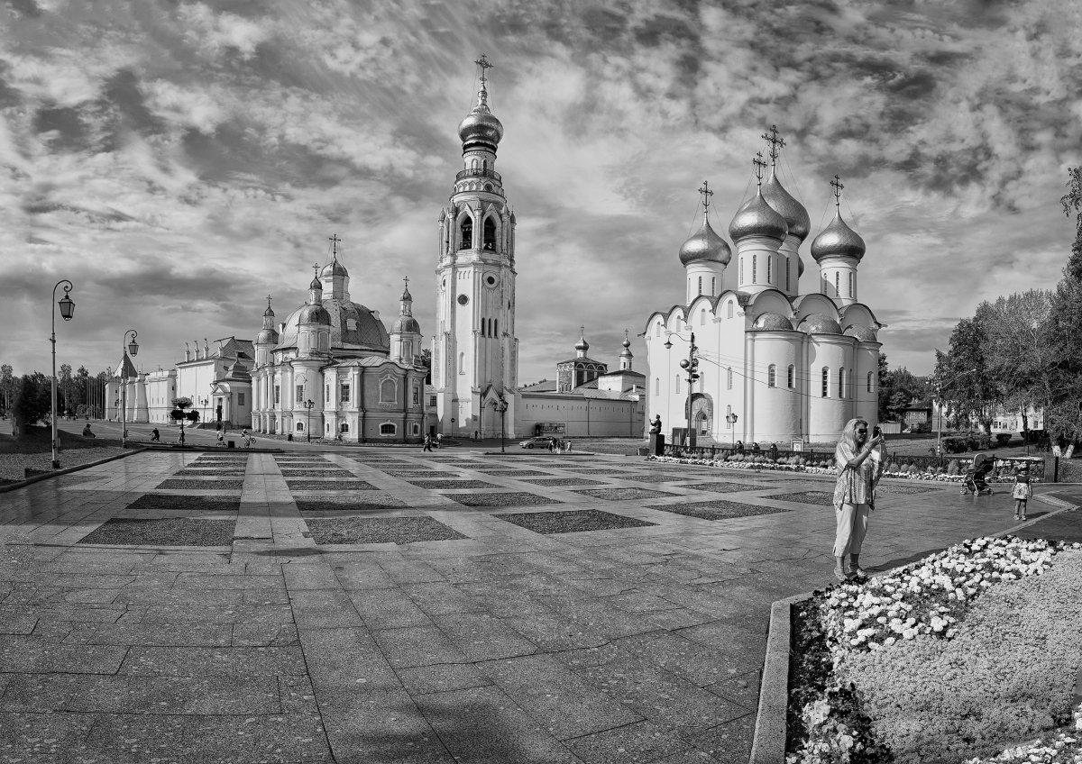 Вологда, архитектура, город, собор, колокольня, Россия, Анатолий Тимофеев