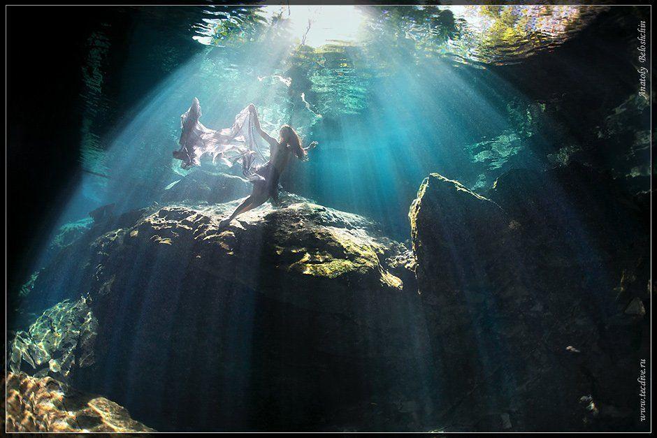 mexico, underwater, photo, cave, chak, chac, mool, anatoly, beloshchin, nude, fashion, seacam, canon, 5d, mark, ii, Anatoly  Beloshchin