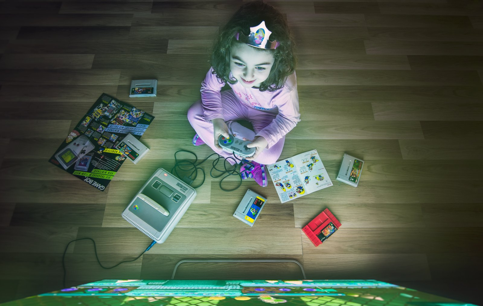 game mario portrait kids console sony night , ნიკოლოზ მესხი