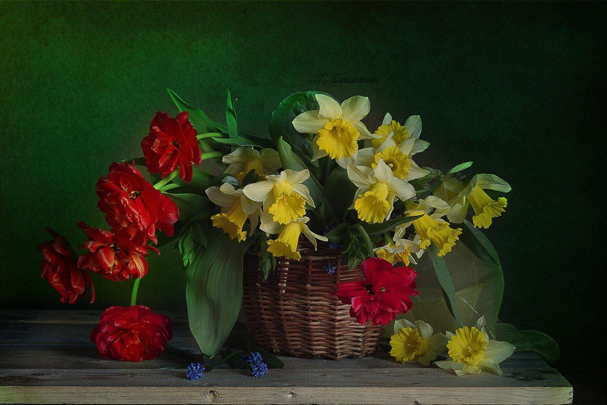 Весенний букет Вера Павлухина