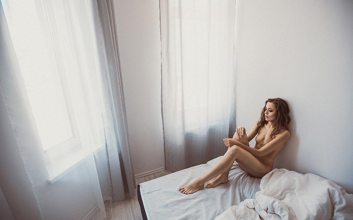 Ню, НюАрт, Nu, Nude, Naked, Girl, Light, Slava Grebenkin