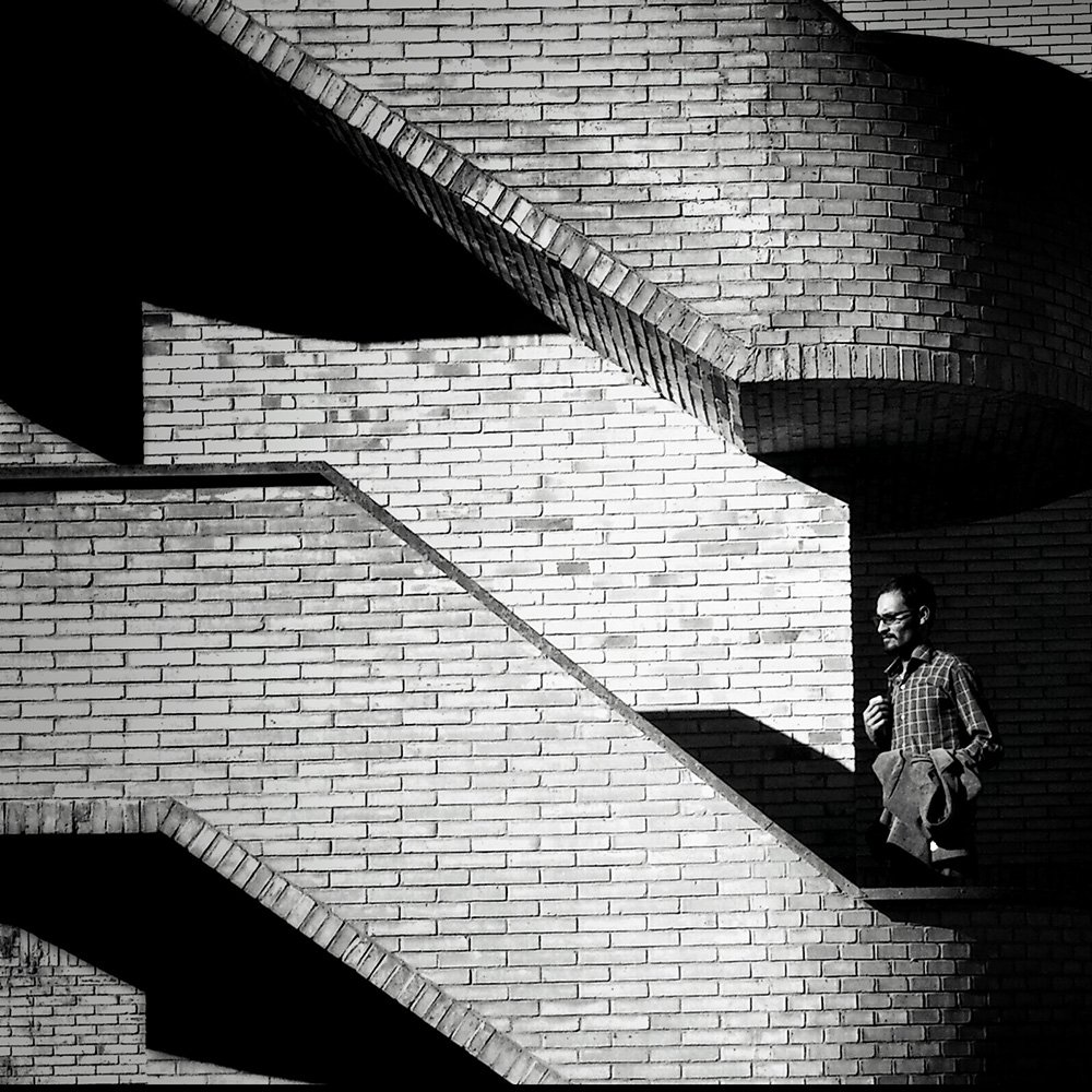 street, shadow, light, bnw,, milad safabakhsh