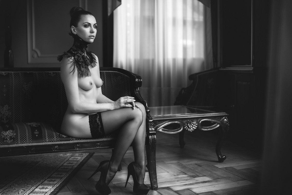 Black & white, Erotica, Portrait, Sensuality, finus