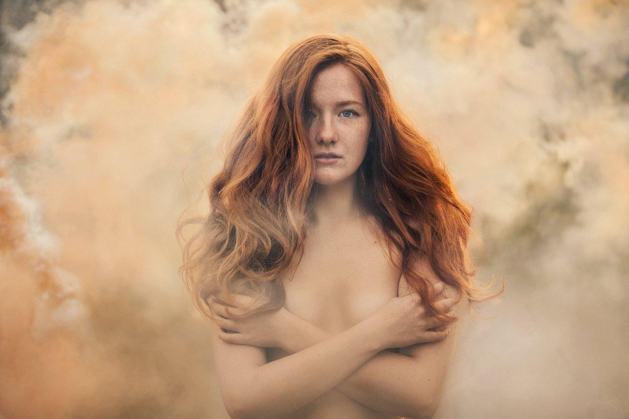 Дым, Рыжая, Рыжая девушка, Александра Савенкова