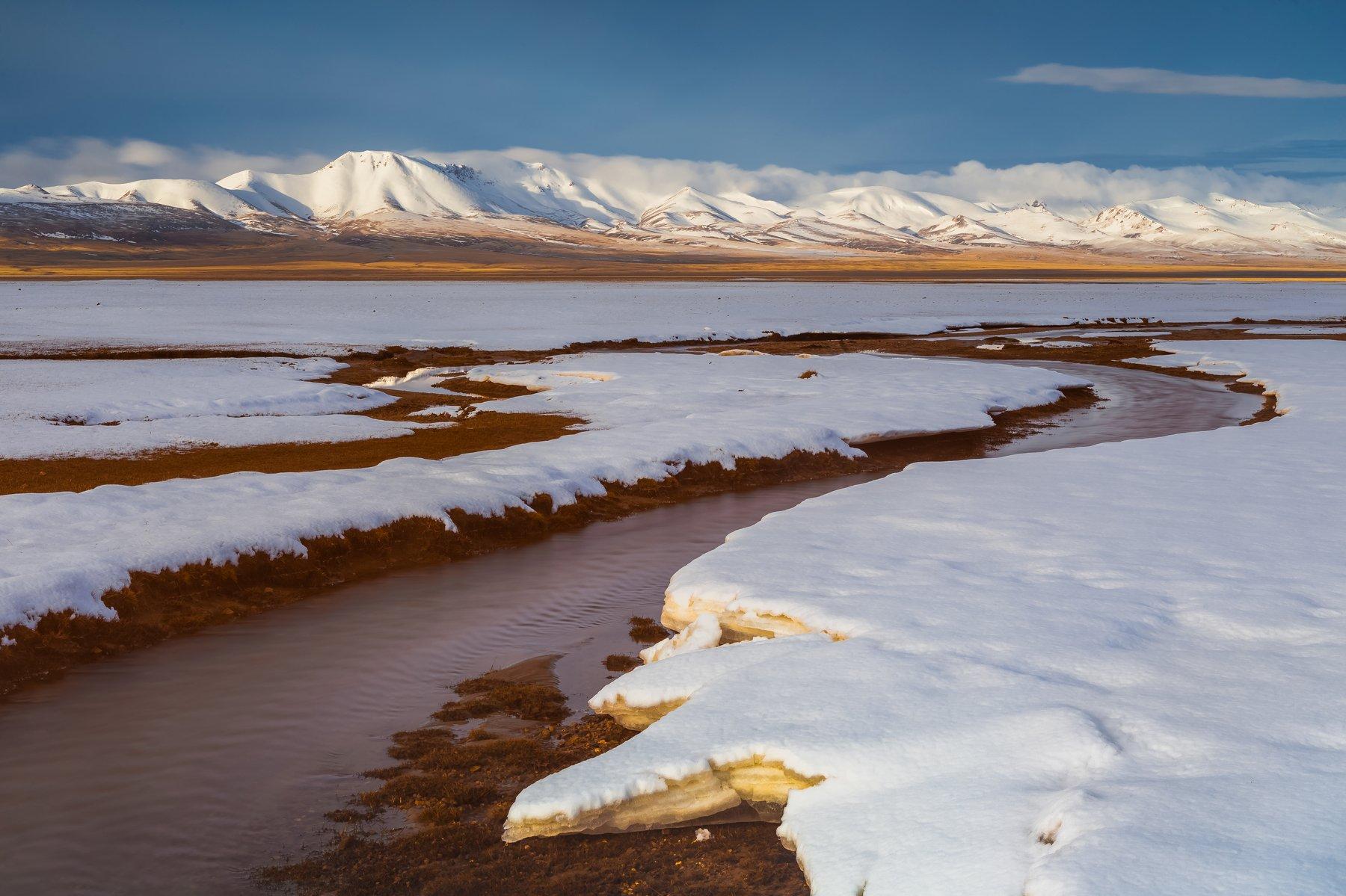 киргизия, сонкуль, высокогорье, снег, май, Кирилл Уютнов