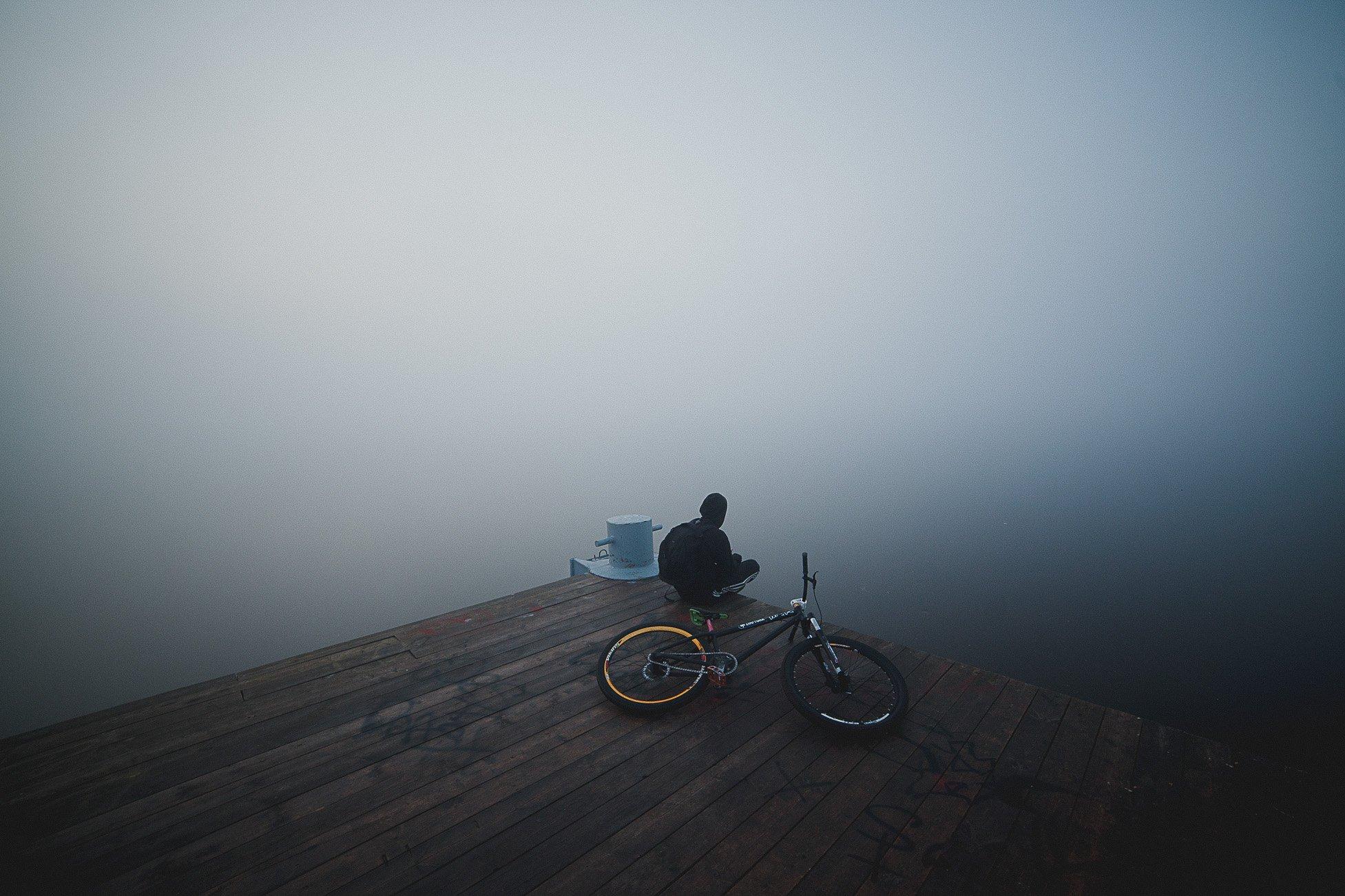Волга, Река, Туман, Тутаев, Утро, Воронин Вова