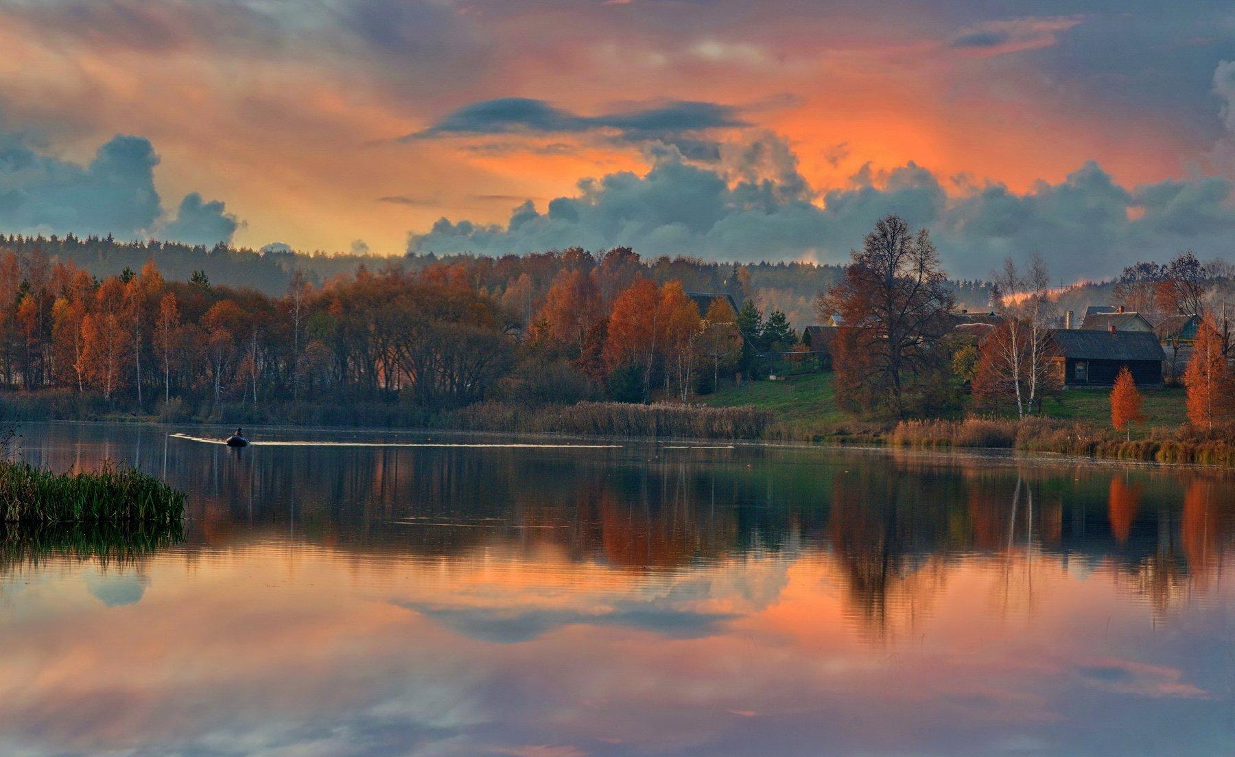 Не осень в нашей грусти виновата, а лишь в душе — отсутствие весны… Александр Гвоздь