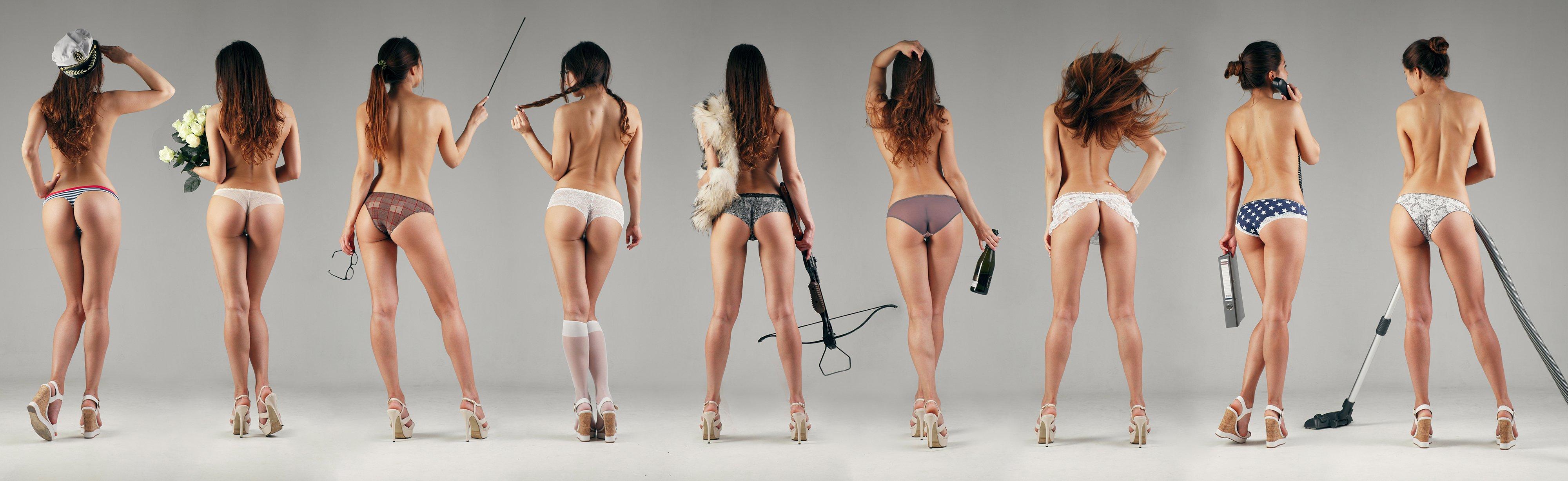 girl, butt, ass, underwear, commercial,, Роман Филиппов