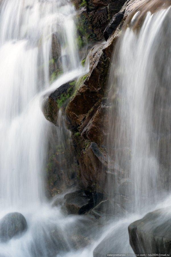 вода, река, водопад, скалы, Альт Деаг Мор, Ред Хиллз, Слигчейн, остров, Скай, Шотландия, Валерий Романов