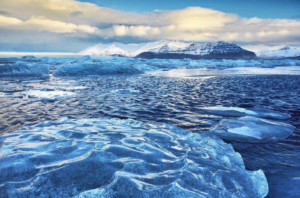 Исландия Jokulsarlon Йёкюльсаурлоун ледяная лагуна ледник, Vadim Nikiforov