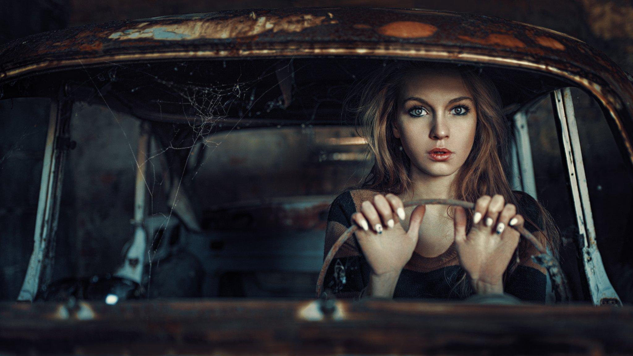 Cinematic, Model, Mood, Portrait, Damian Piorko
