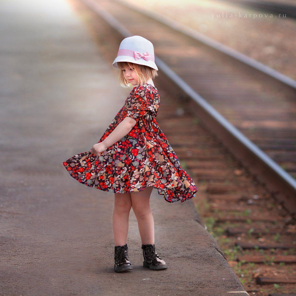 girl, portrait, kid, summertime, Юлия Карпова