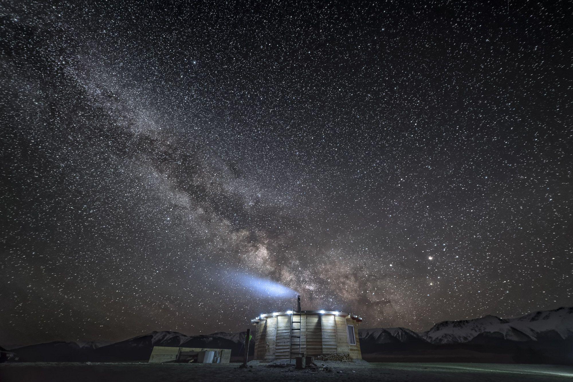 пейзаж,звезды,ночь,звездная ночь,природа,млечный путь,горы,небо,ночное небо, Дмитрий Старостенков