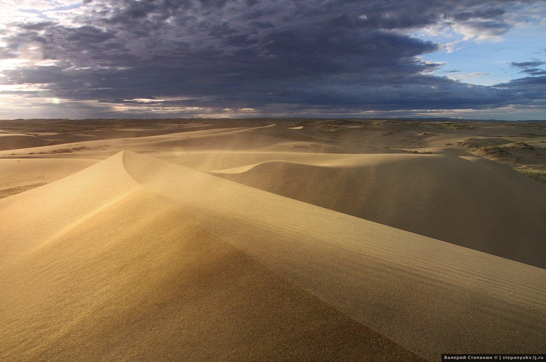 пустыня, пейзаж, путешествие, монголия, Степанюк Валера
