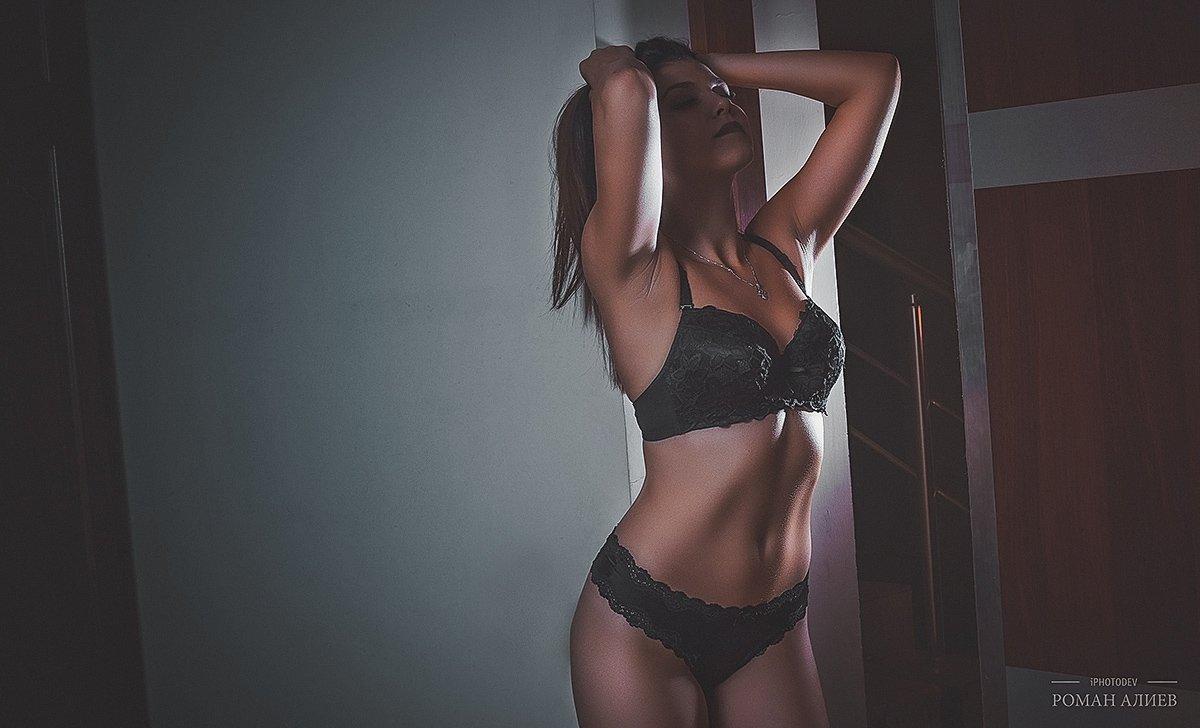 нижнее белье, тело, студия, Роман Алиев