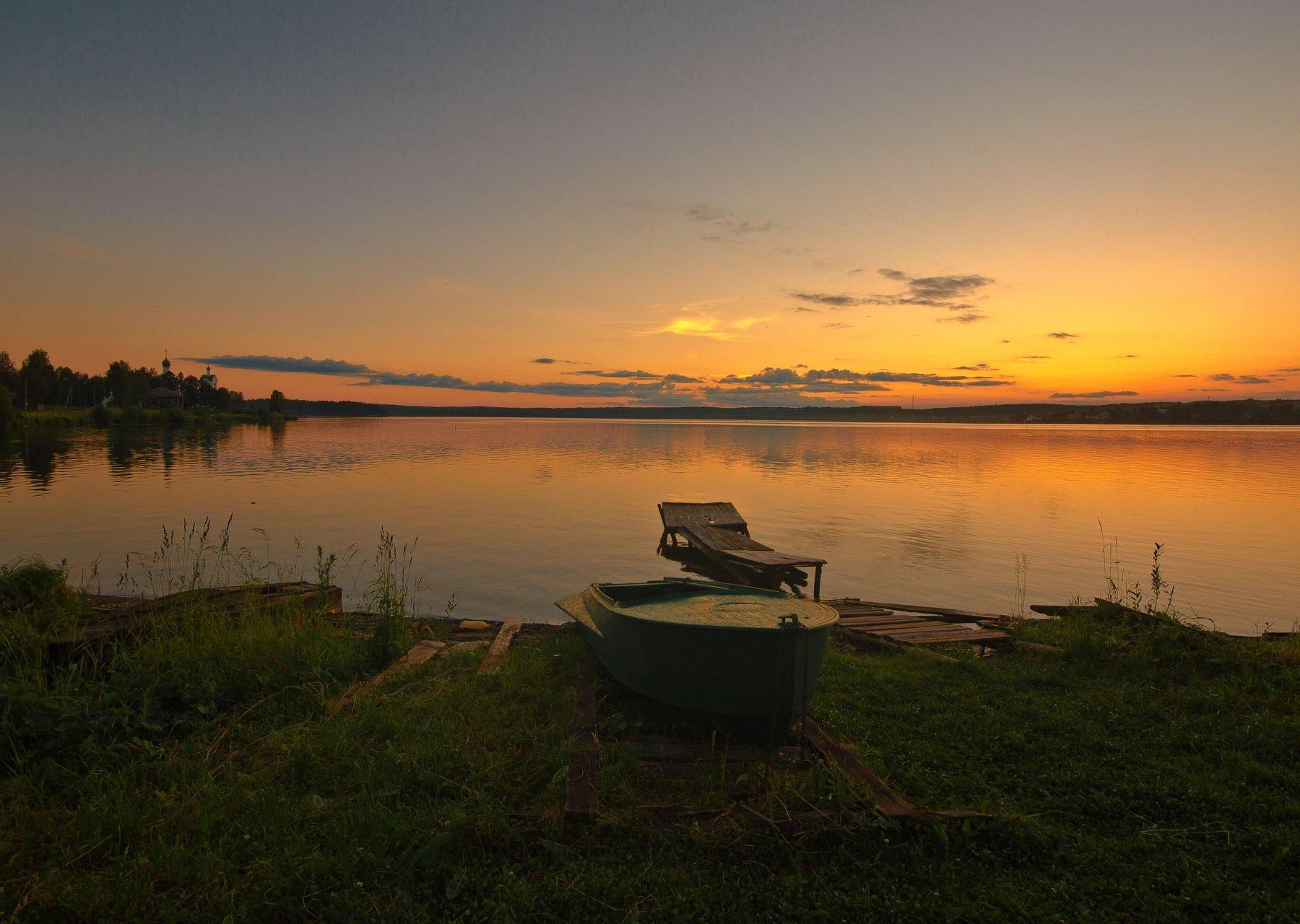 закат,лето,провинция, Карепанов Евгений