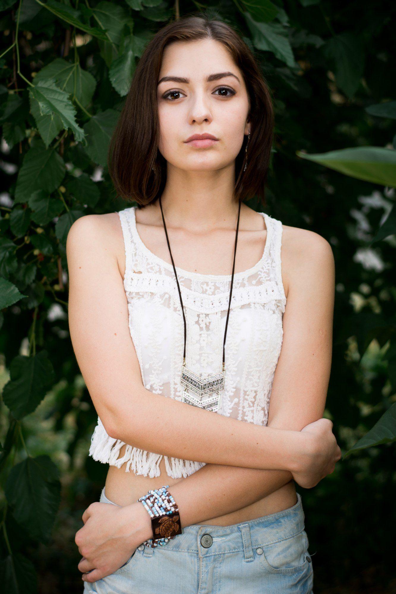 портрет, глаза, взгляд, девушка, лето, nikon d7100, 50mm 1.8g, Гозун Радослав