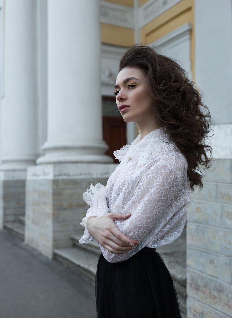 девушка, портрет, Рабачев Филипп