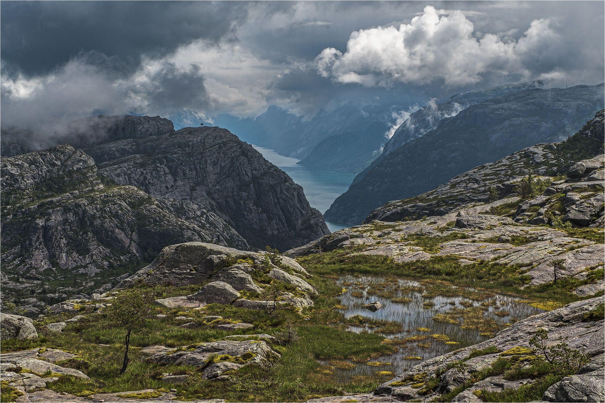 norway, норвегия, fjord, фьорд, Владимир В. Эделев