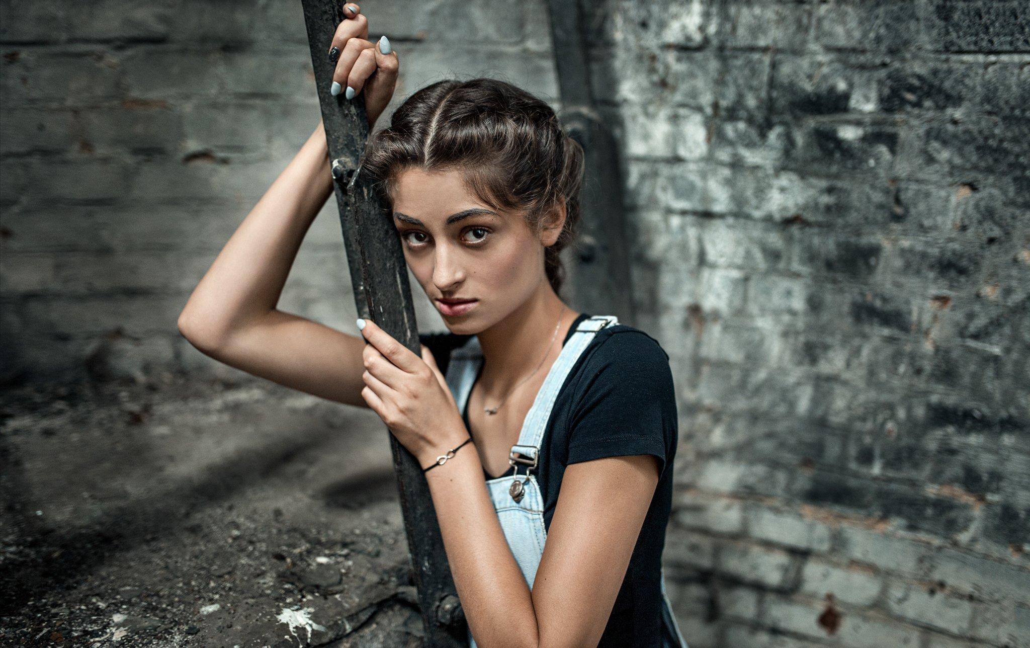 Color, Girl, Mood, Portrait, Damian Piorko