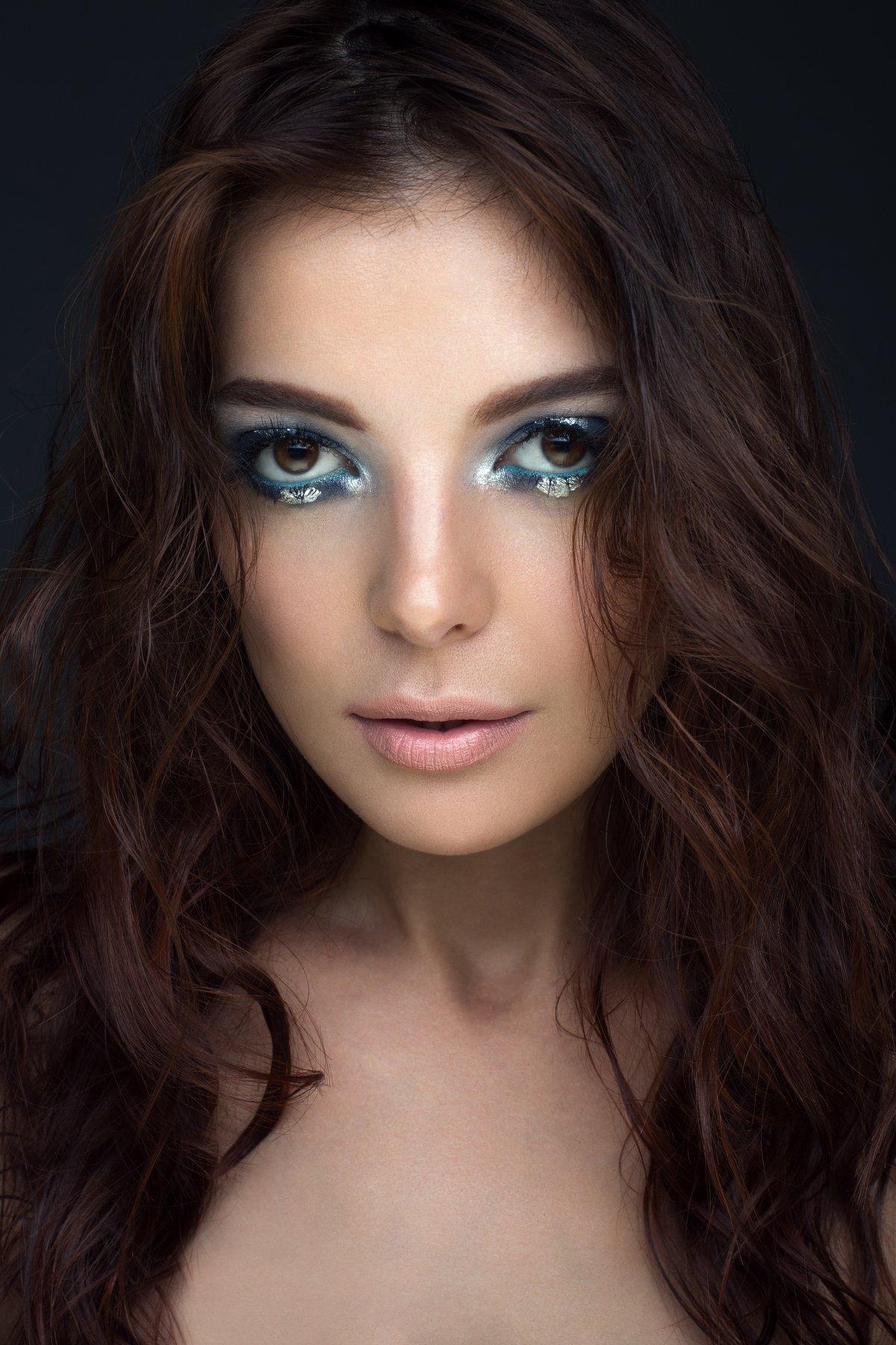 портрет, девушка, студия, взгляд, макияж,  portrait, girl, beauty, beautiful, make up, Бесценный Артём