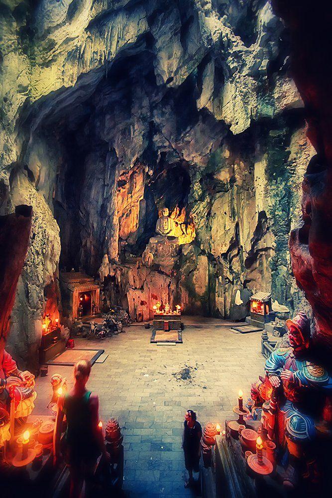 Buddha Cave, Marble Mountains, Danang, Vietnam, Кирилл