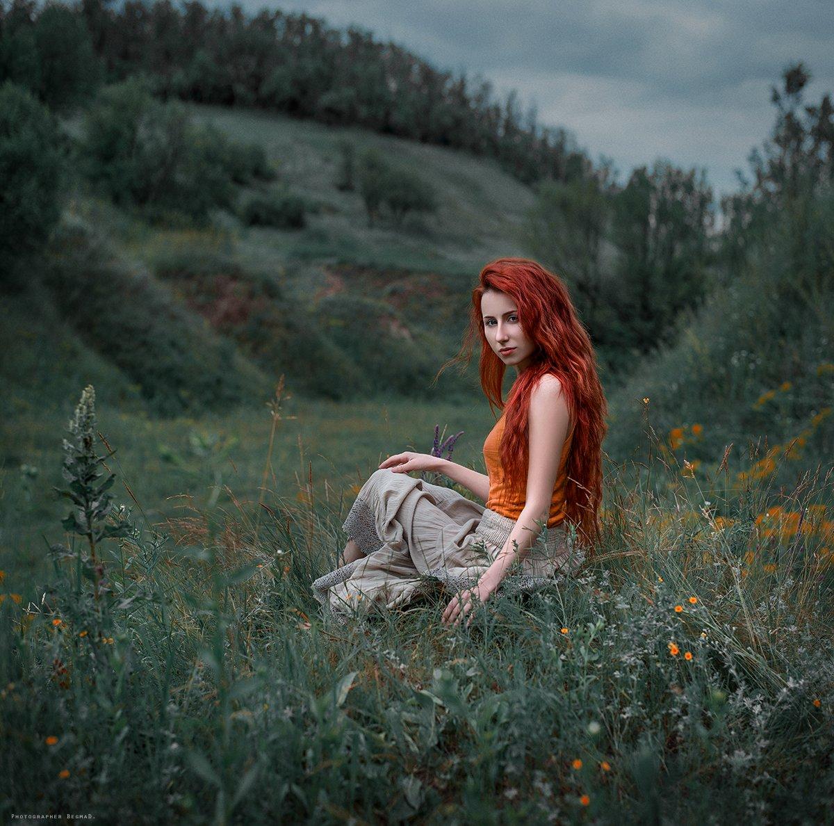 art photo, beautiful, begmad, dantar90, eyes, girl, model, nikon, portrait, pretty, red, ukraine, красивая, портрет девушки, рыжая, фотоарт, Дмитрий Бегма