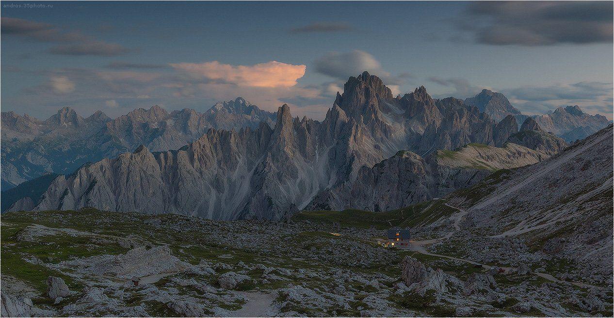 Lavaredo, Tre cime, Доломиты, Andrew Senkevich