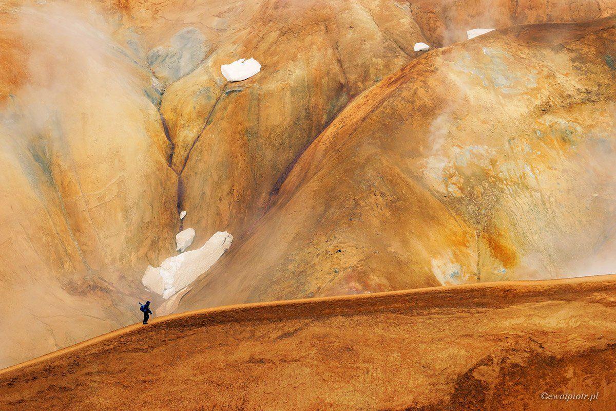 Iceland, Kerlingarfjöll, landscape, hills, Piotr Debek
