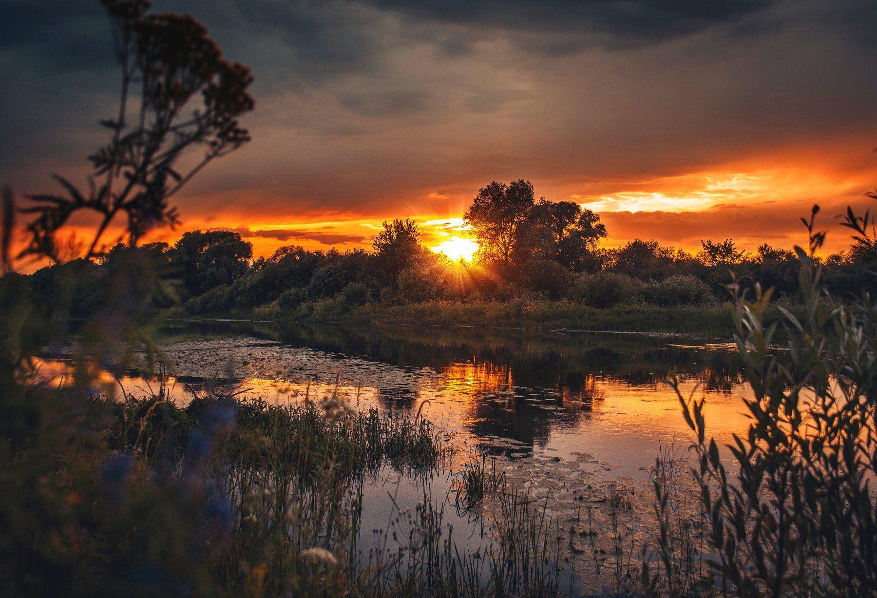 фото, природа, закат, пейзаж, Екатерина