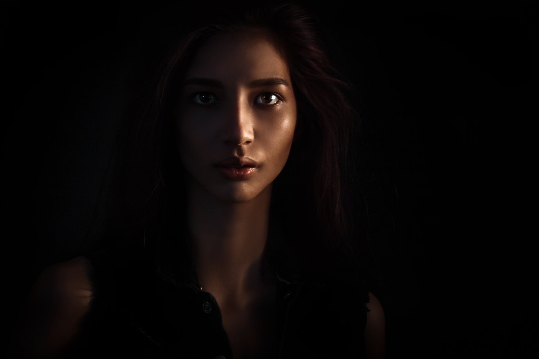 #art #girl #dark #magic, Diana Nazmutdinova