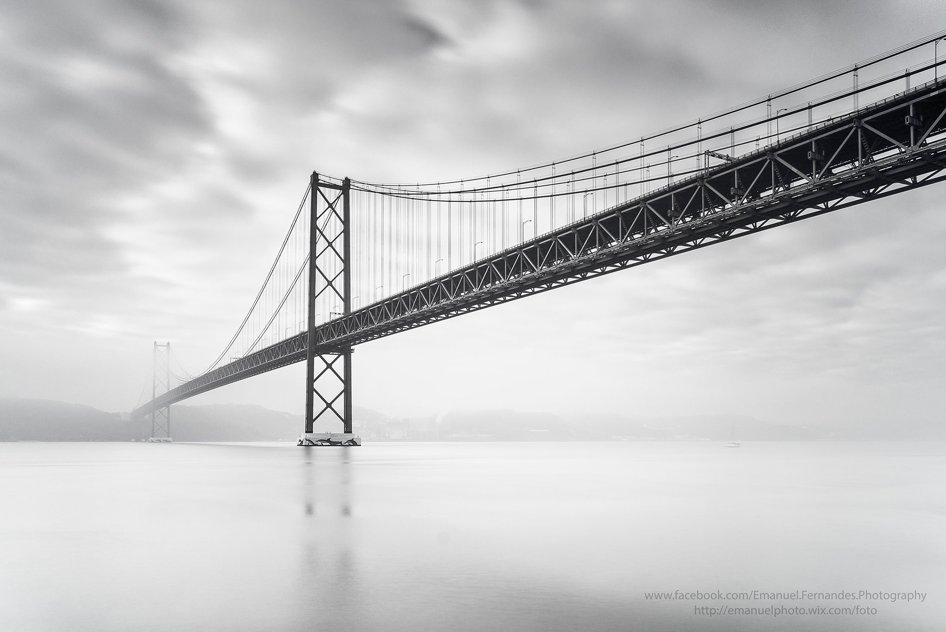 Bridge,Lisbon,Portugal,clouds,water,city,, Emanuel Fernandes