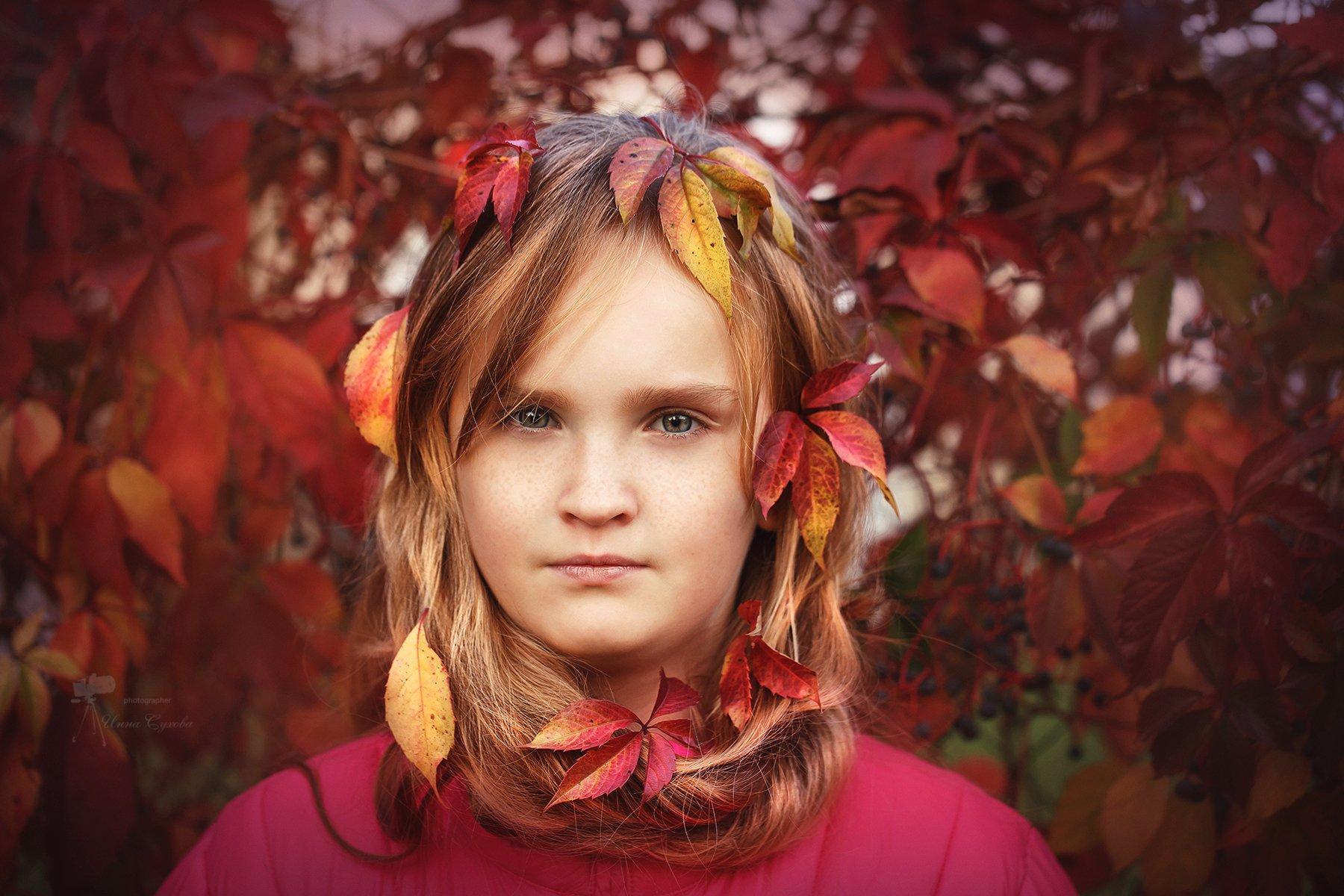 Багрянная осень, Осень, Инна Сухова