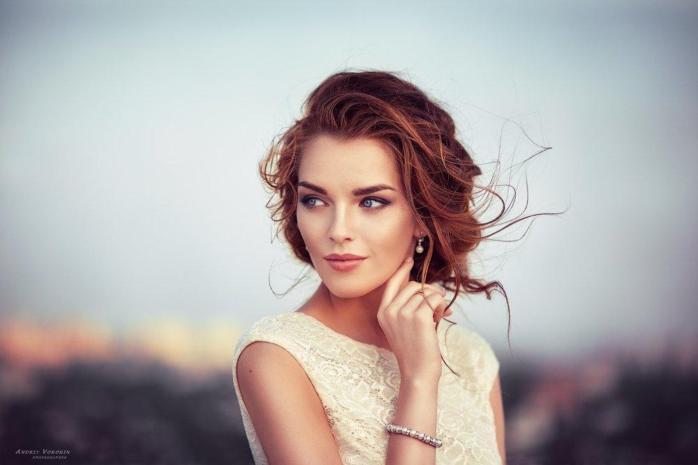 портрет девушка красота глаза , Воронин Андрей
