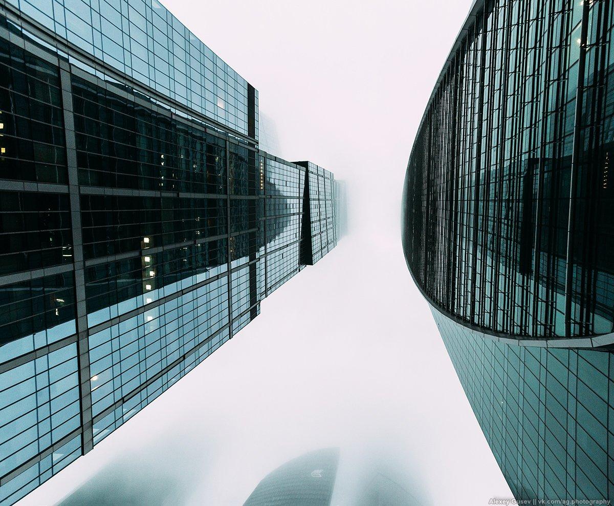 city,urban,building,moscow,sky,grey,steel,glass,concrete,air, Алексей Гусев