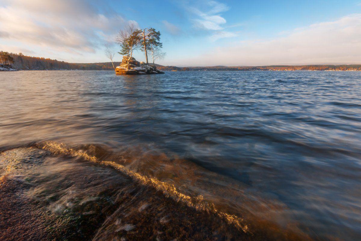 таватуй, озеро, осень, урал, средний урал, россия, пейзаж, осенний пейзаж, Вадим Балакин