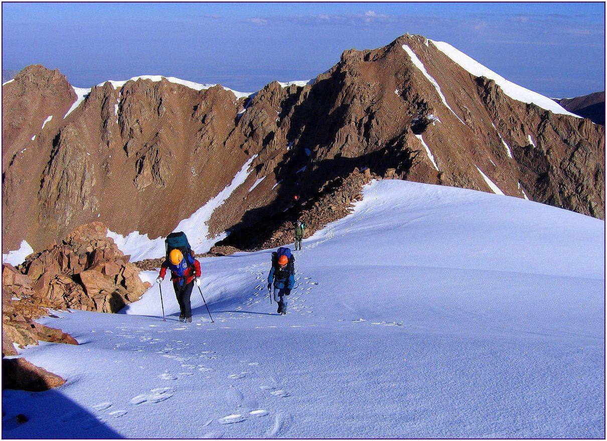 тянь-шань, ледник, перевал,пик,восхождение, Валерий Неудахин