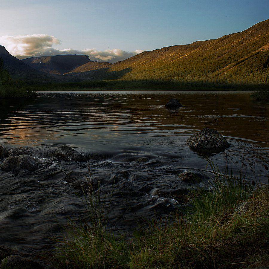 река,горы,озеро,кольский п-ов,хибины, Roman Goryachiy