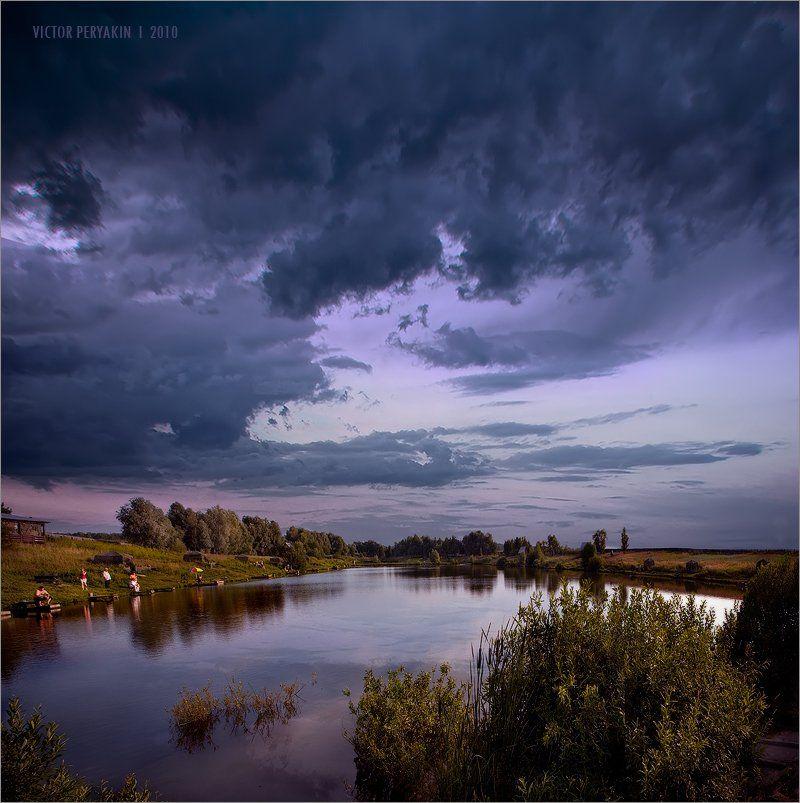 станиславские, пруды, подмосковье, рыбалка, отдых, природа, Виктор Перякин