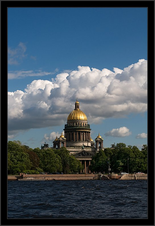 петербург, центр, исакий, нева, лето, Kirill Shapovalov