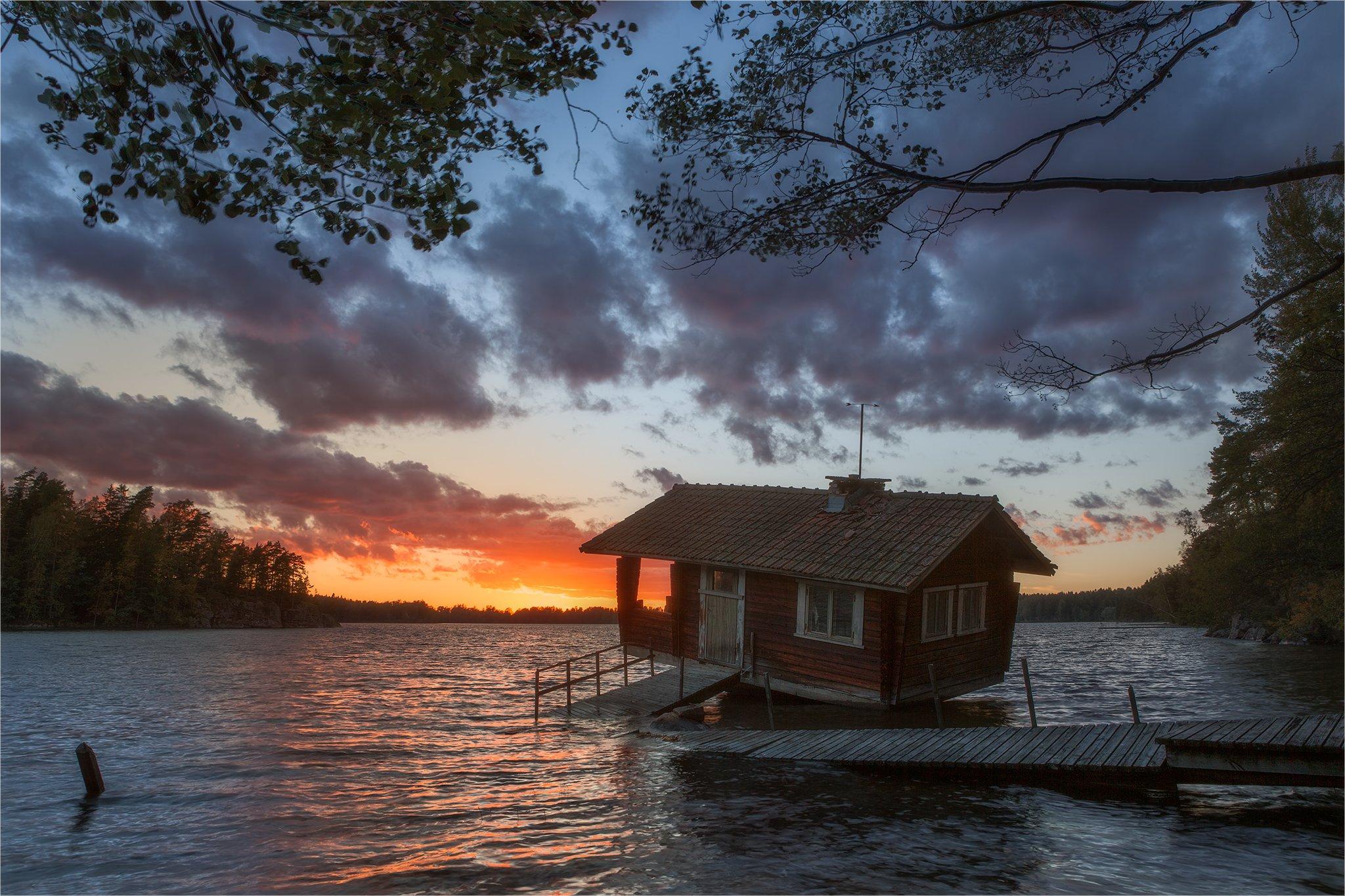 Sauna,Finland, basri