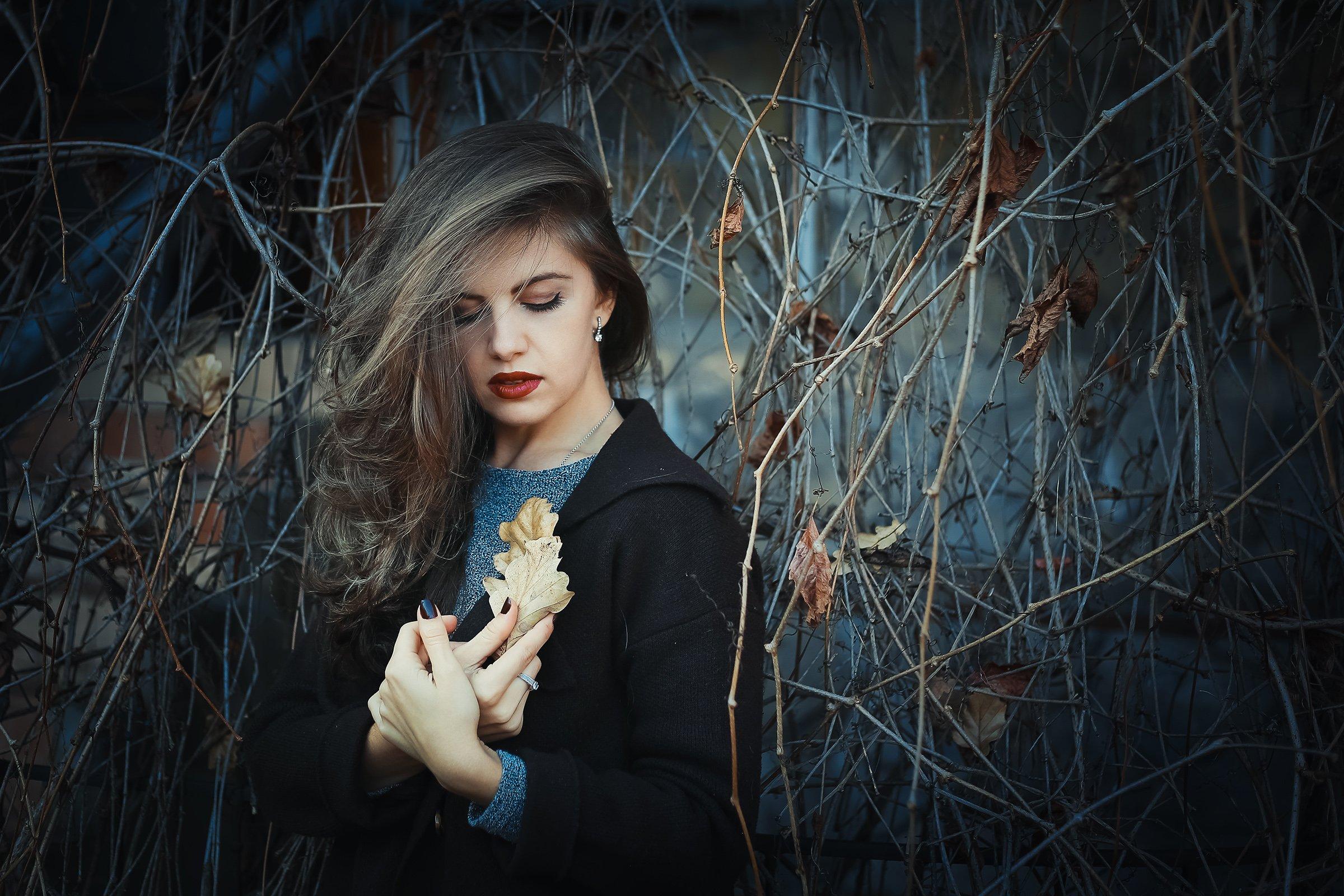 девушка,осень, Инна Сухова