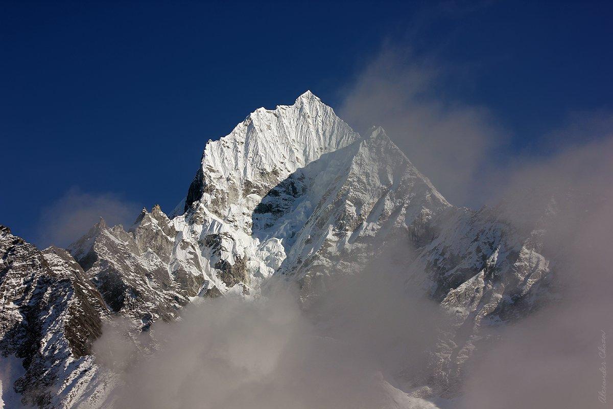 Тамсерку, Гималаи, Непал, Кхумбу, горы, вершина, Александр Чазов