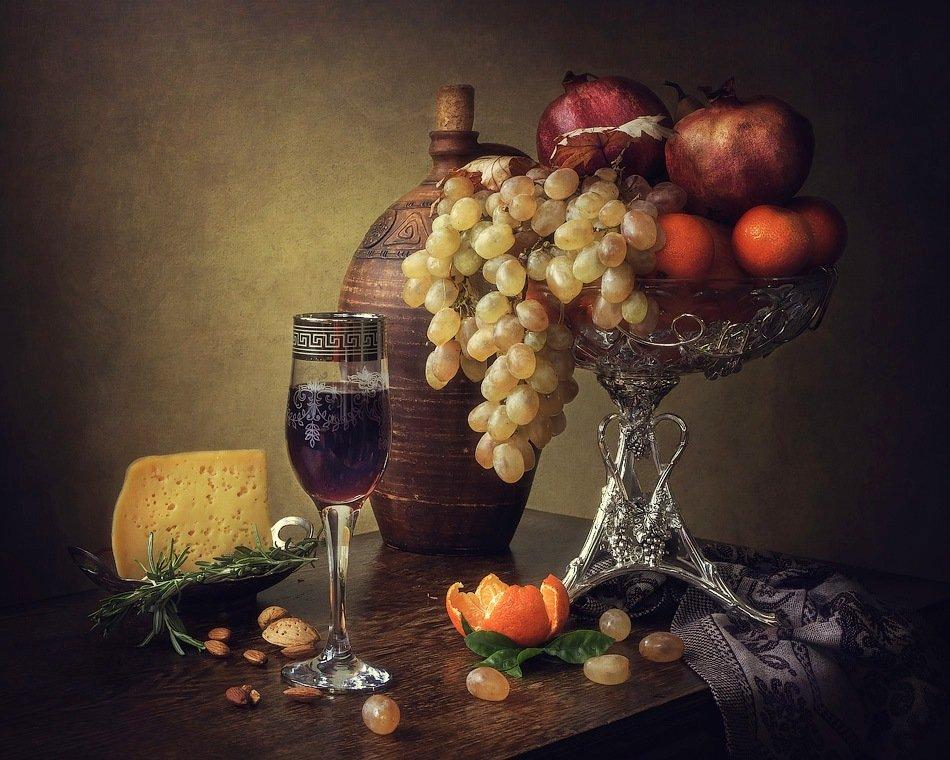 Натюрморт с молодым вином Ирина Приходько