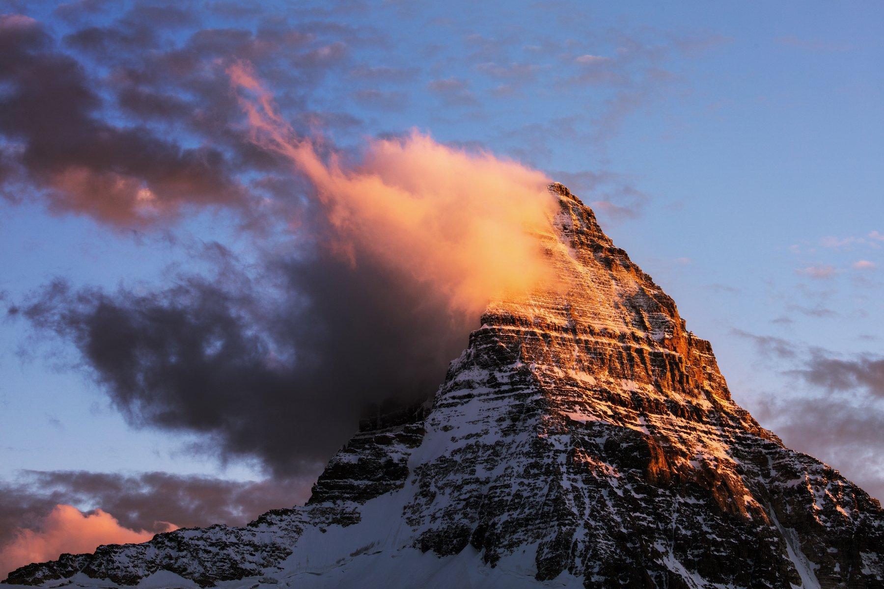 assiniboine peak, canada, канада, банф, Алексей Сулоев