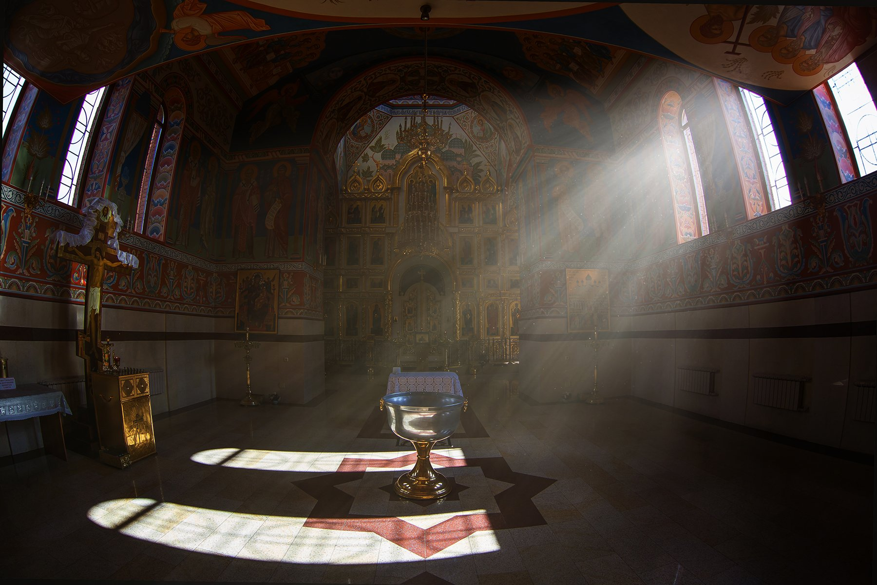 церковь,свет, Инна Сухова