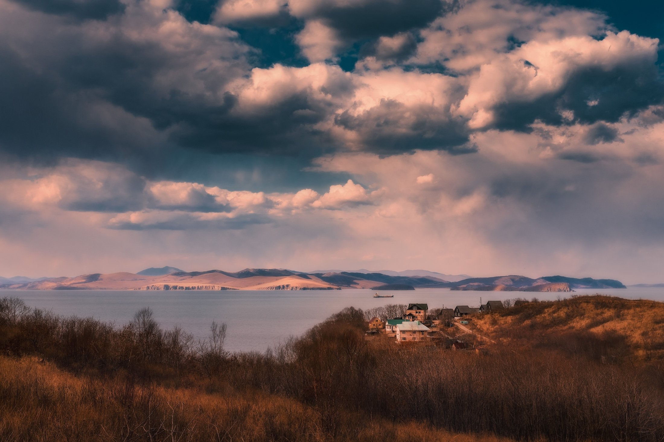 побережье, японского, моря, Андрей Кровлин