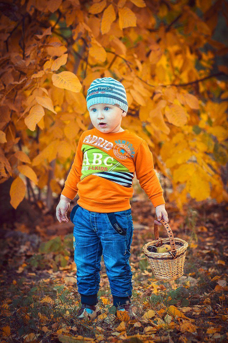 ребенок,мальчик,осень, Инна Сухова