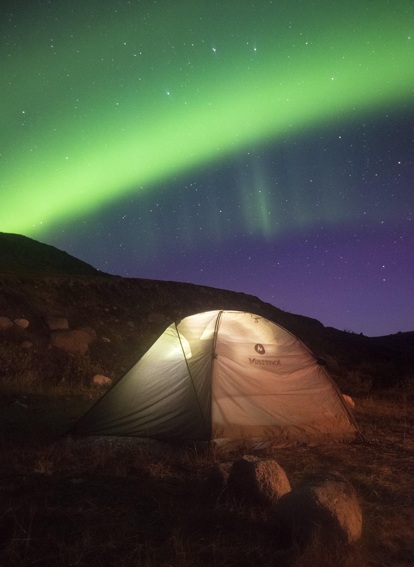 Северное сияние, Aurora Borealis, Дальние Зеленцы, Кольский полуостров, Анастасия Малых